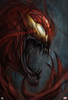 """Carnage"" - Officially licensed & Limited Edition - Marvel Comics Poster Art By Robert Bruno - Grey Matter Art Exclusive"