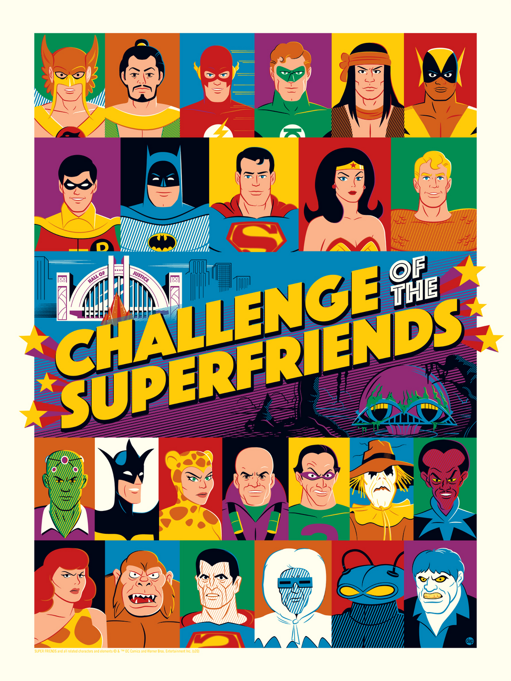 Challenge of the Superfriends Regular Edition by Dave Perillo