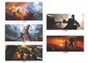 Part III: Marvel Concept Art Matching Number Set of 5
