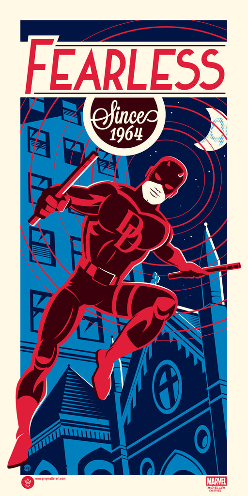 Marvel's Daredevil Regular Edition by Dave Perillo - Grey Matter Art