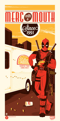 Deadpool by Dave Perillo