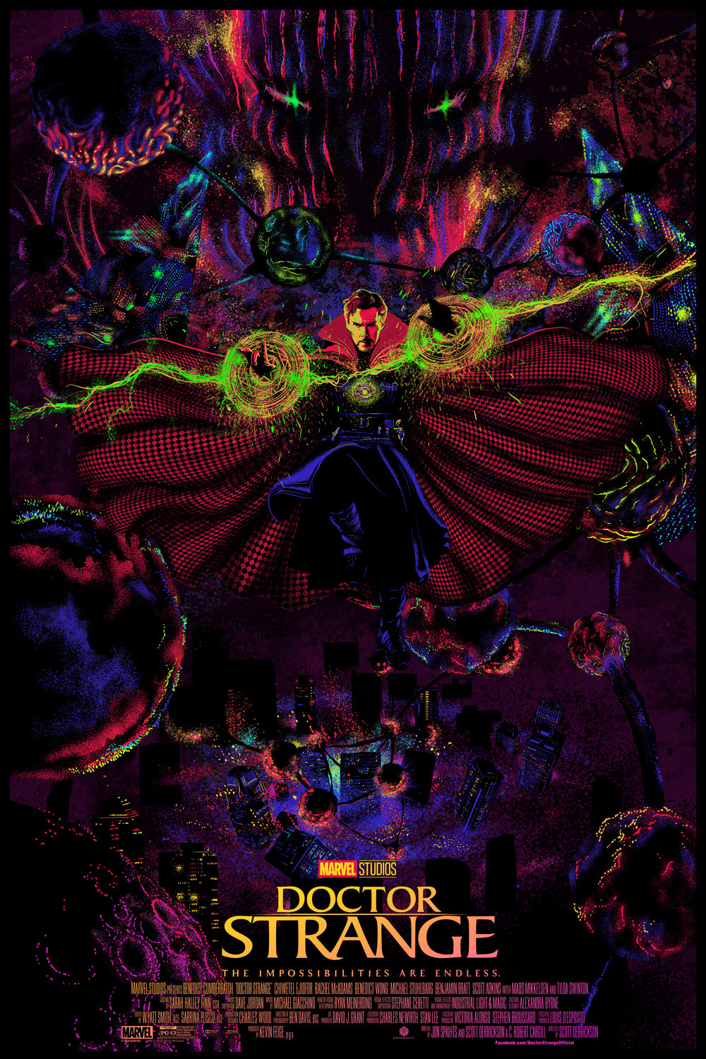 Doctor Strange Foil Edition by Chris Thornley (Raid71)