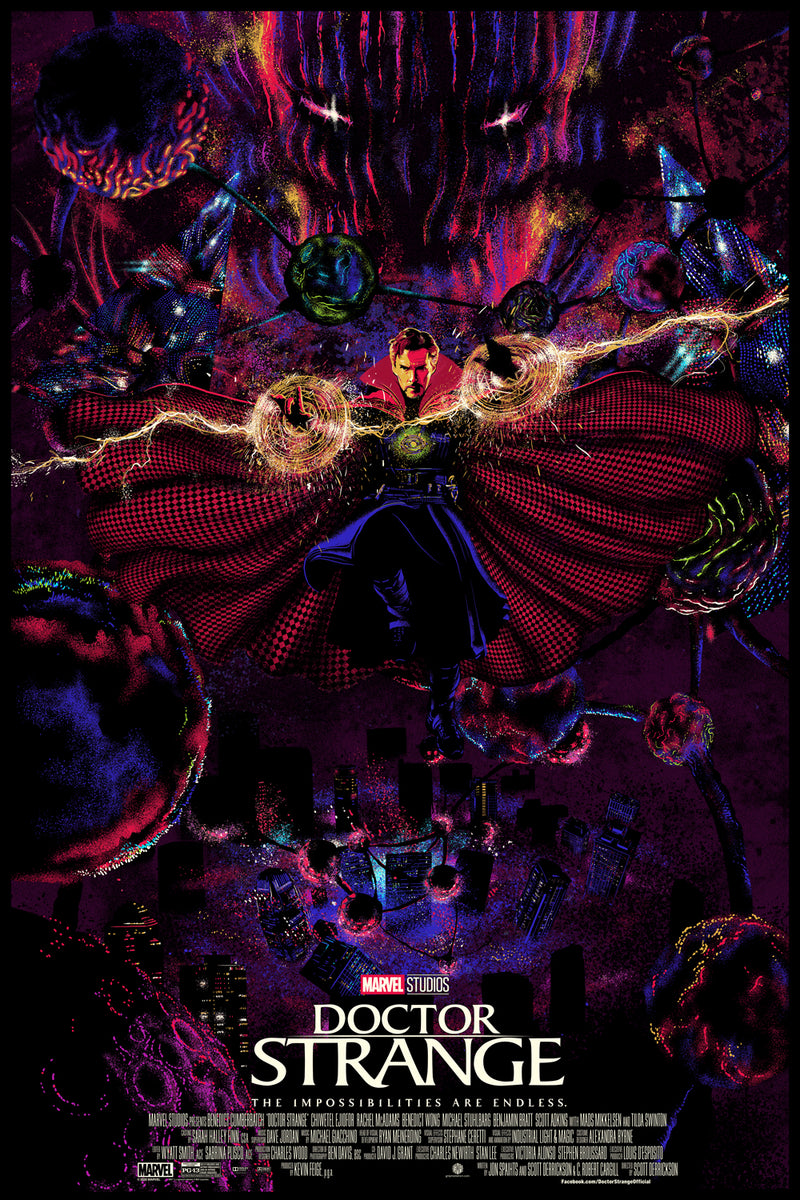 Doctor Strange GID Edition by Chris Thornley (Raid71)