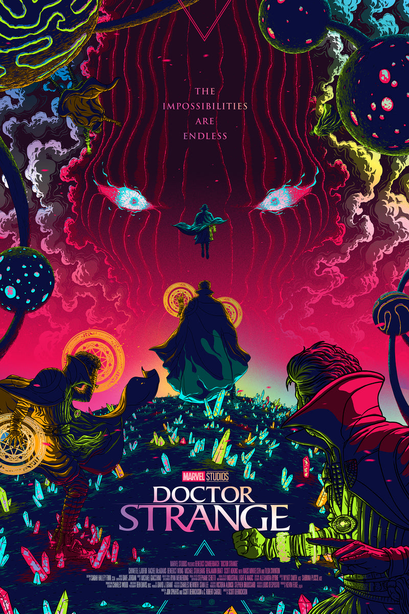 Doctor Strange Foil Edition by Florey