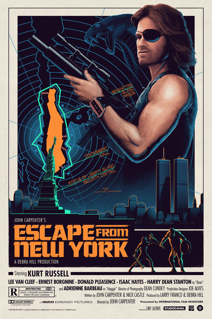 """Escape from New York"" Regular Edition by Matt Ferguson"