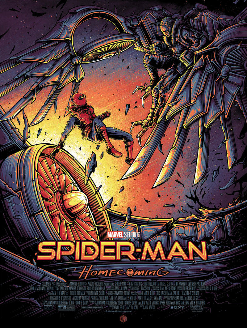 """Spider-Man: Homecoming"" - Officially licensed & Limited Edition - Sony 