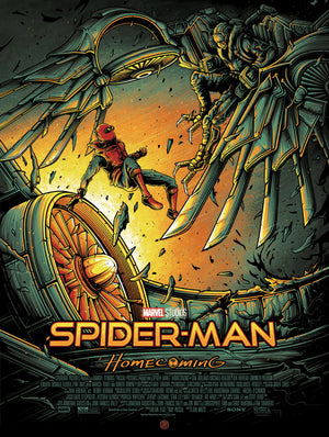 """Spider-Man: Homecoming"" Variant Edition by Dan Mumford"