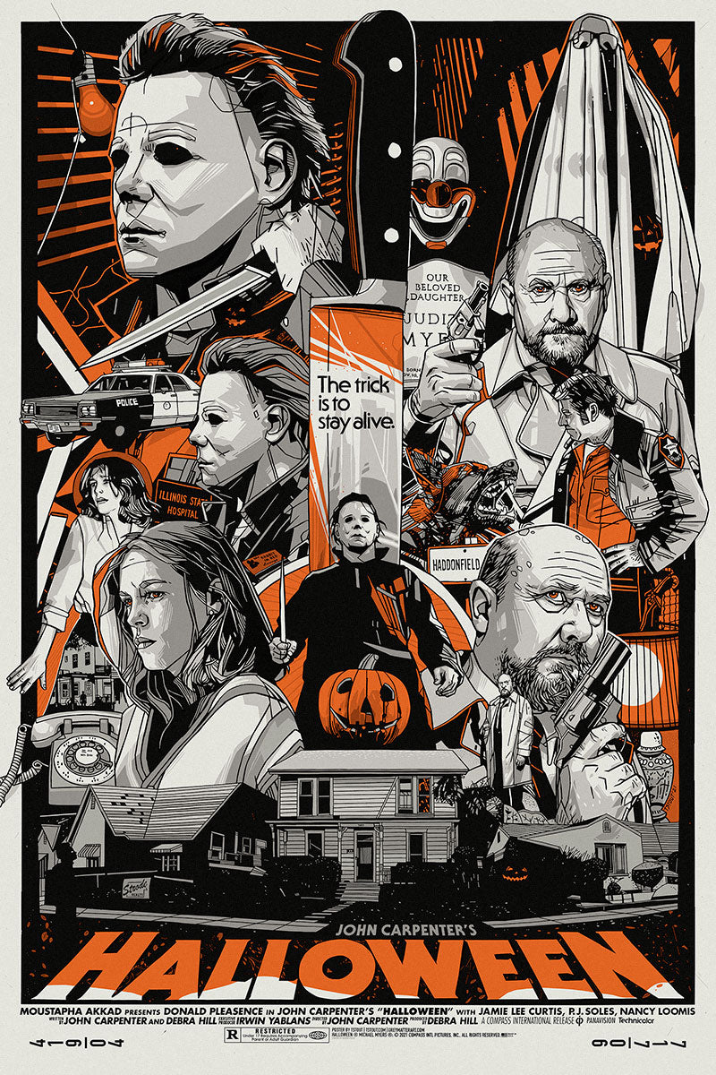 Halloween Regular Edition by Tyler Stout