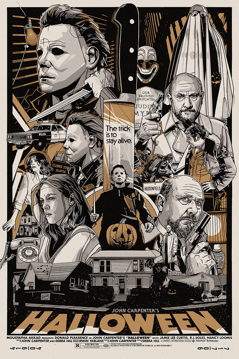 Halloween Variant Edition by Tyler Stout