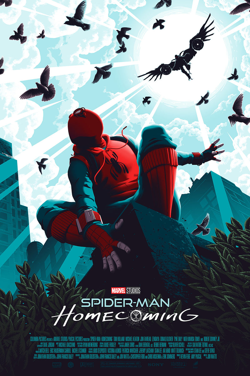 Spider-Man: Homecoming Regular Edition by Florey