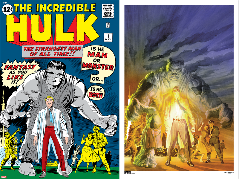 The Incredible Hulk #1 & The Immortal Hulk #20 Matching Number Set