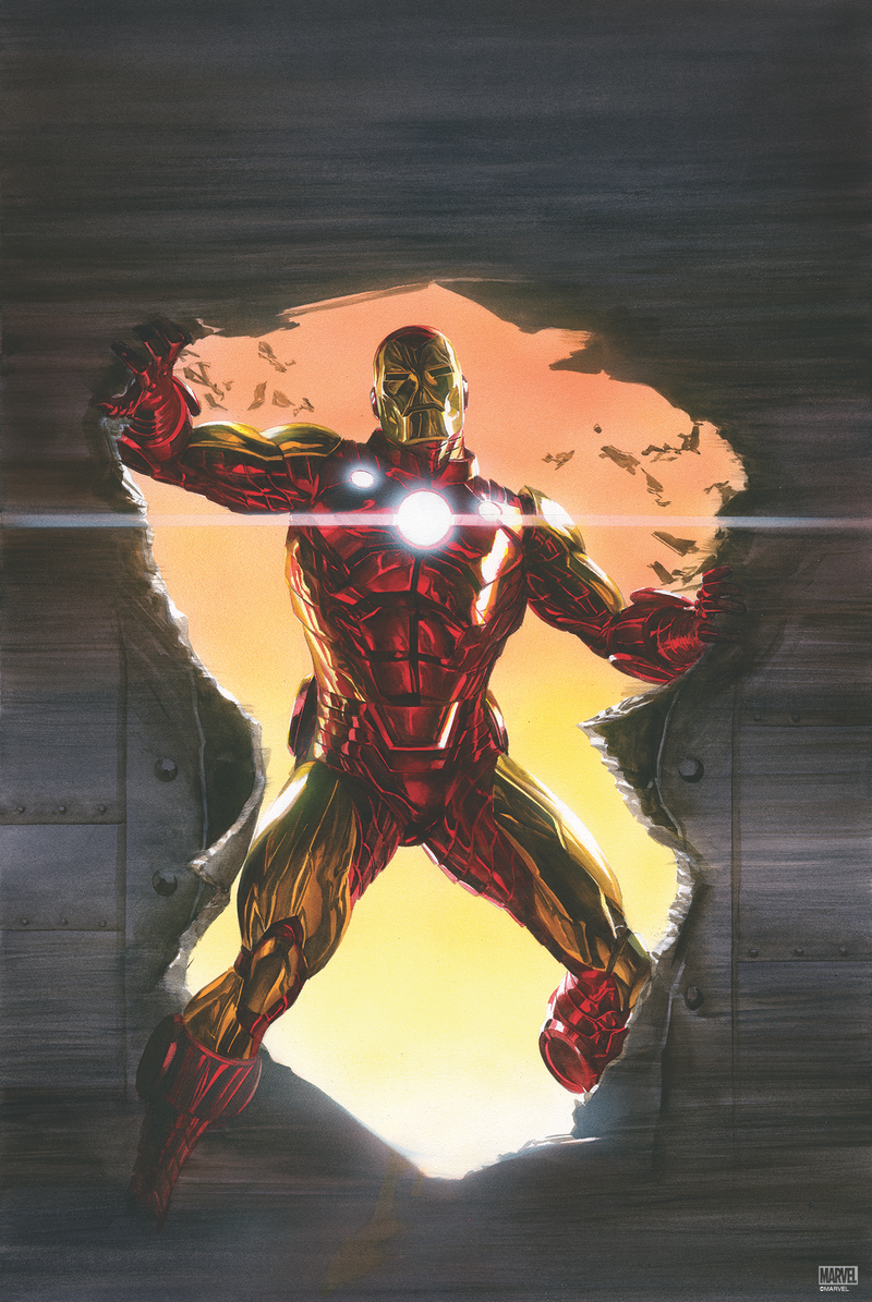 The Invincible Iron Man Variant #600 (2018) by Alex Ross