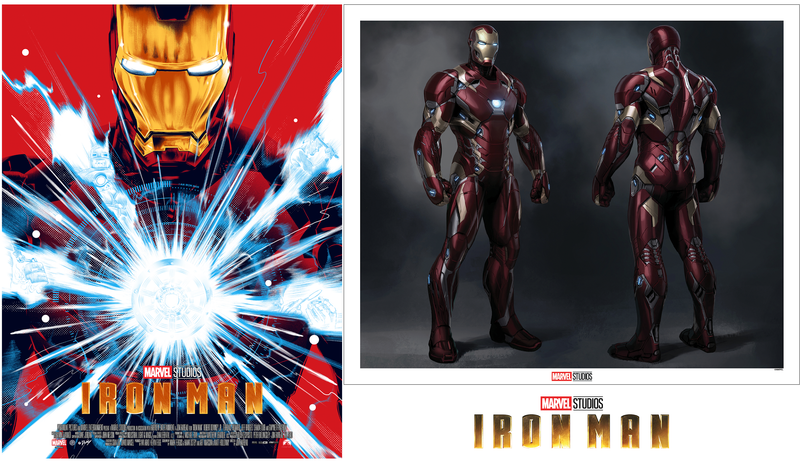 Iron Man Matching Number Set