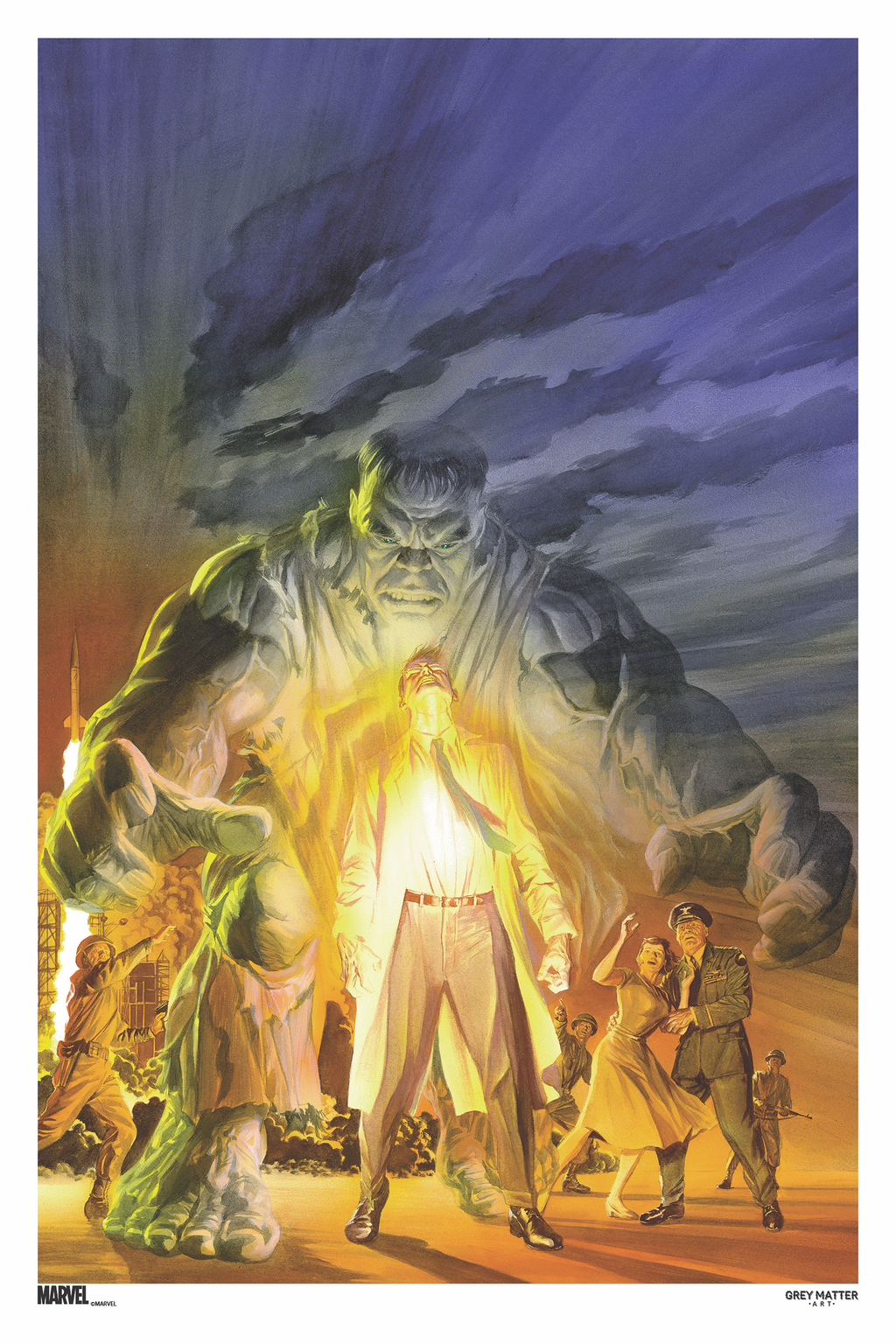 The Immortal Hulk #20 (Variant) Cover Art by Alex Ross