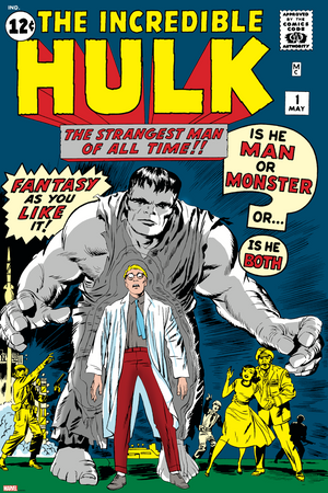 The Incredible Hulk #1 (1962) Story by Stan Lee - Cover Art by Jack Kirby