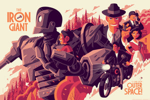 Iron Giant Regular Edition by Tom Whalen