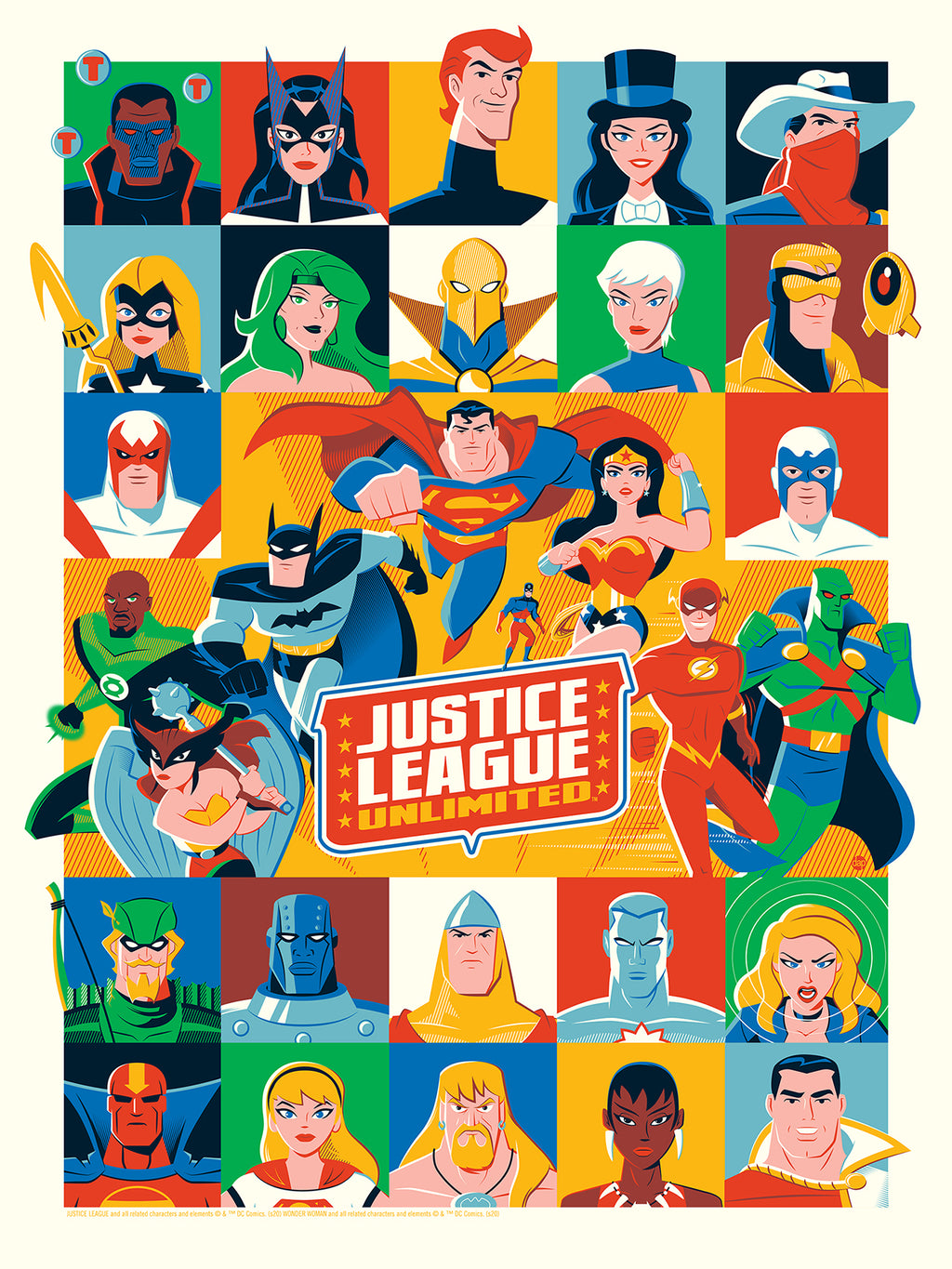 Justice League Unlimited by Dave Perillo