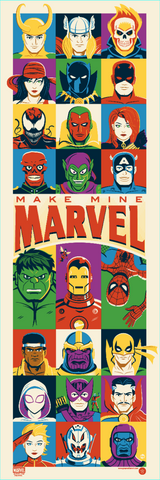 Make Mine Marvel by Dave Perillo