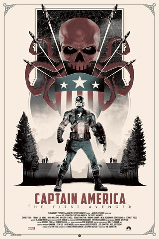 """Captain America: The First Avenger"" Variant Edition by Matt Ferguson"
