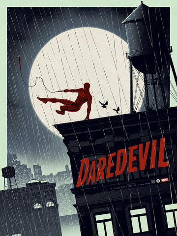 Marvel's Daredevil (Glow in the Dark) Regular Edition by Matt Ferguson - Grey Matter Art