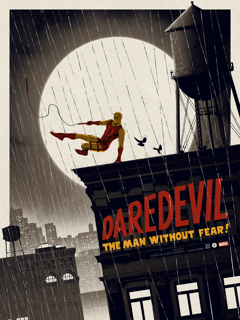 Marvel's Daredevil Variant Edition by Matt Ferguson - Grey Matter Art