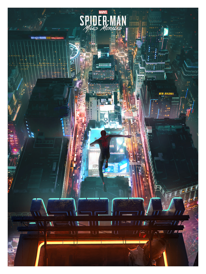 Marvel's Spider-Man: Miles Morales Game Art by Insomniac Games Art Team