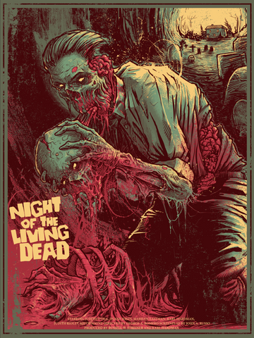 """Night of the Living Dead"" Regular Edition by Godmachine"