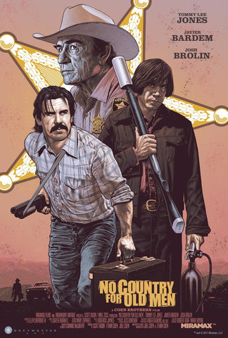 """No Country for Old Men"" Standard Edition by Chris Weston"