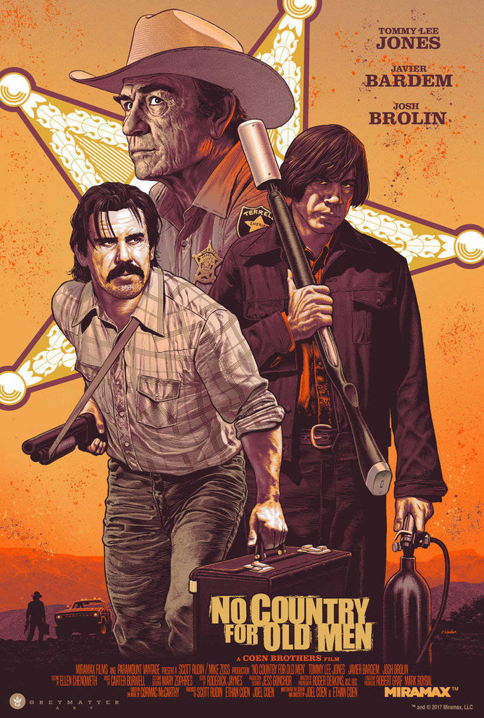 """No Country for Old Men"" Variant Edition by Chris Weston"