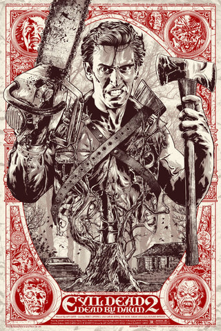 """Evil Dead 2"" by Anthony Petrie"