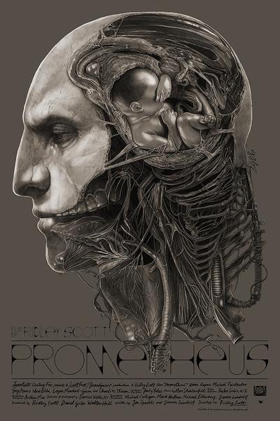 """Prometheus"" Regular Edition by Gabz - Grey Matter Art"