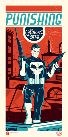 Marvel's Punisher by Dave Perillo
