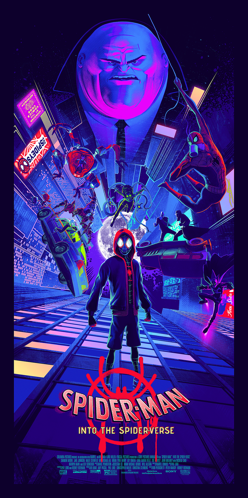 Spider-Man: Into the Spider-Verse Foil Edition by Juan Ramos