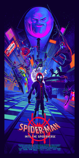 Spider-Man: Into the Spider-Verse GID Edition by Juan Ramos