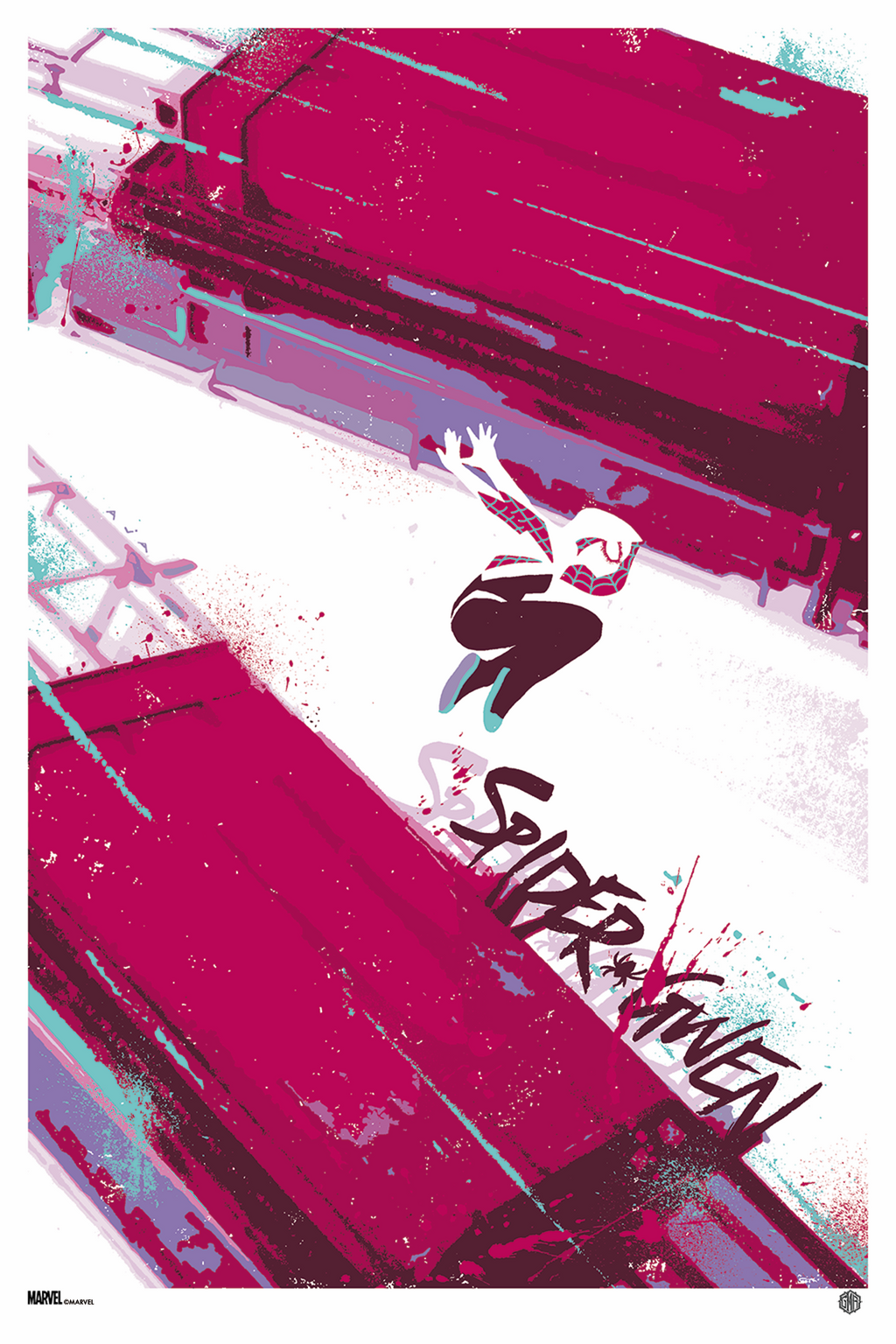 """Spider-Gwen #10"" (Variant) - Officially Licensed & Limited Edition - Marvel Comics Poster Art By David Aja"