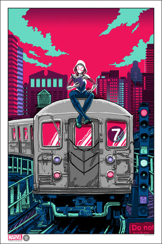 """Spider-Gwen"" Standard Edition by Timothy Doyle"