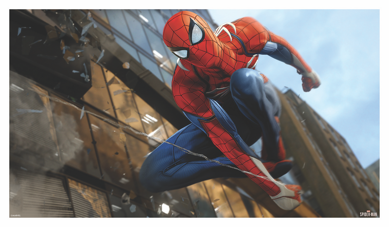 Spider-Man Game Art Regular Edition #1