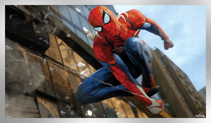 Spider-Man Game Art Silver Foil Variant Edition #1