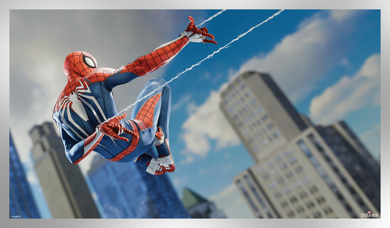 Spider-Man Game Art Silver Foil Variant Edition #3