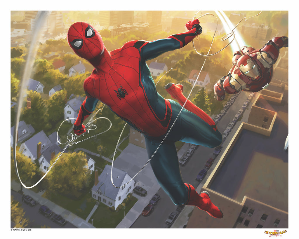 """Spider-Man: Homecoming"" - Officially Licensed & Limited Edition - Marvel Comics Poster By Ryan Meinerding"