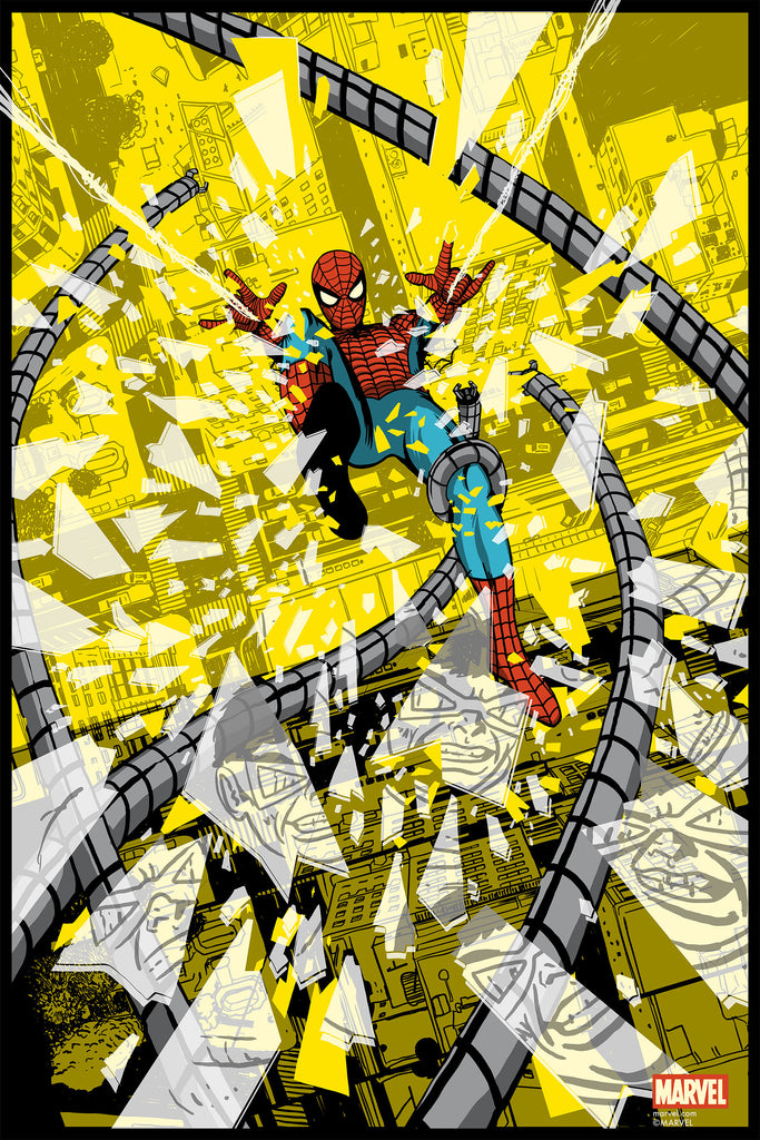 Spider-Man Vs. Doctor Octopus Regular Edition by Chris Thornley - Grey Matter Art