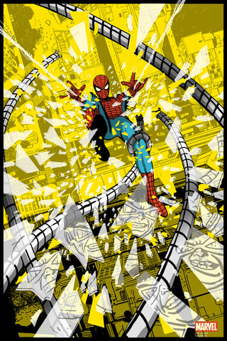 Spider-Man Vs. Doctor Octopus Foil Variant Edition by Chris Thornley