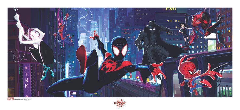 Into the Spider-Verse Concept Art