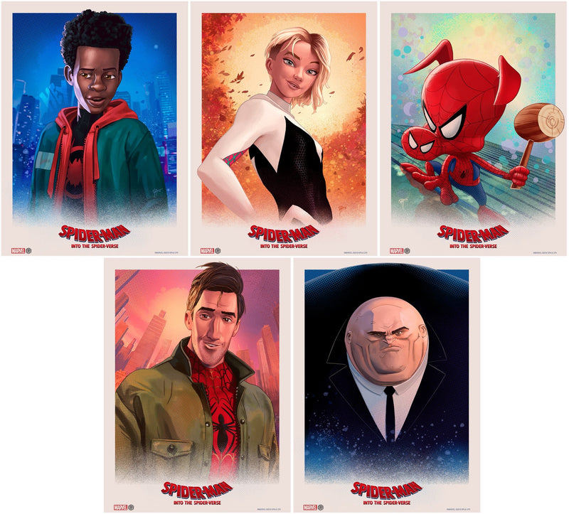 """Into the Spider-Verse"" Set by Ruiz Burgos"