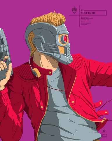 """Star-Lord"" by Florey"