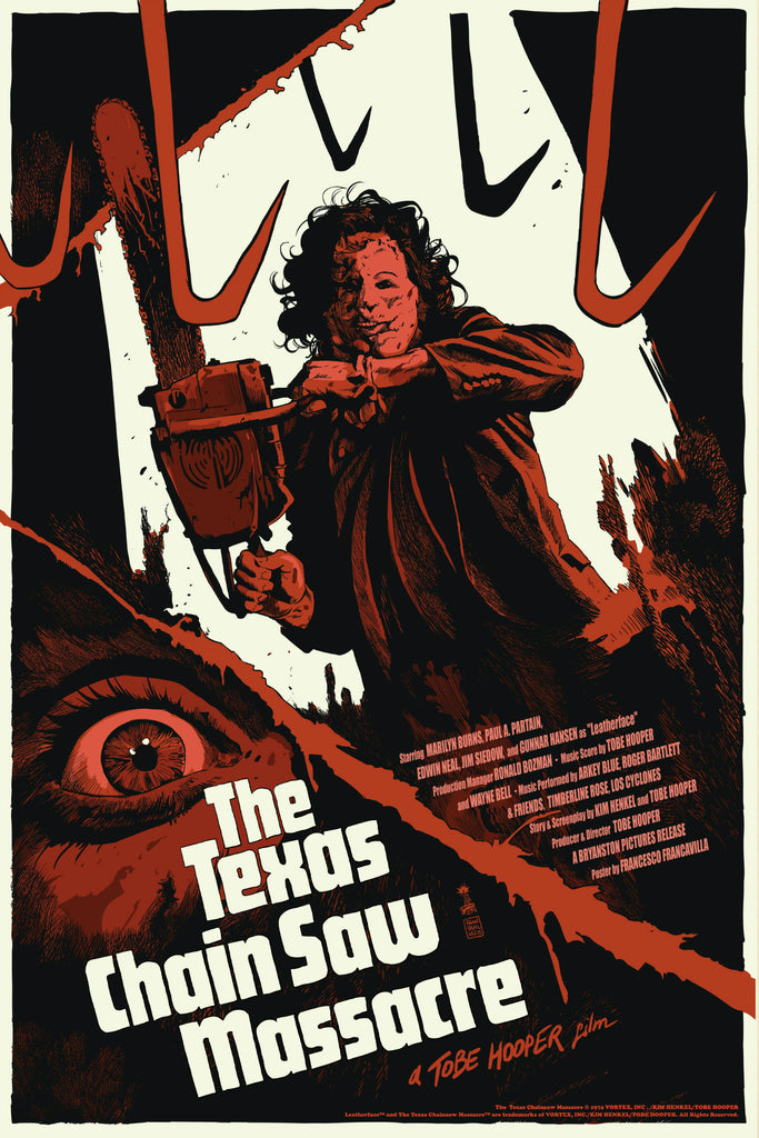 """The Texas Chainsaw Massacre"" Regular Edition By Francesco Francavilla - Grey Matter Art"