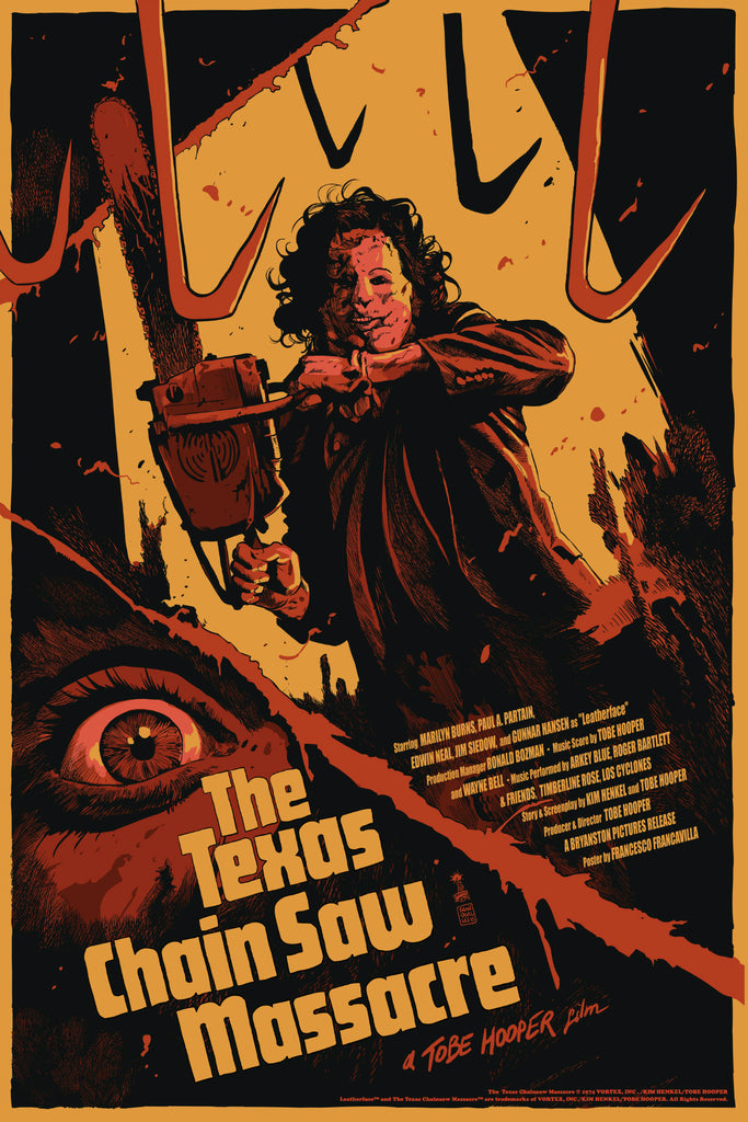 """The Texas Chainsaw Massacre"" Variant Edition by Francesco Francavilla"