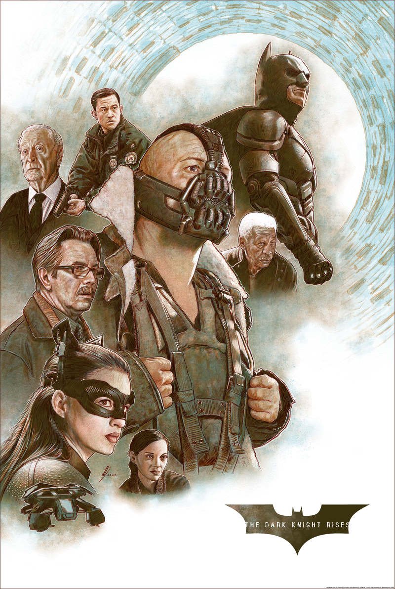 The Dark Knight Rises by Neil Davies