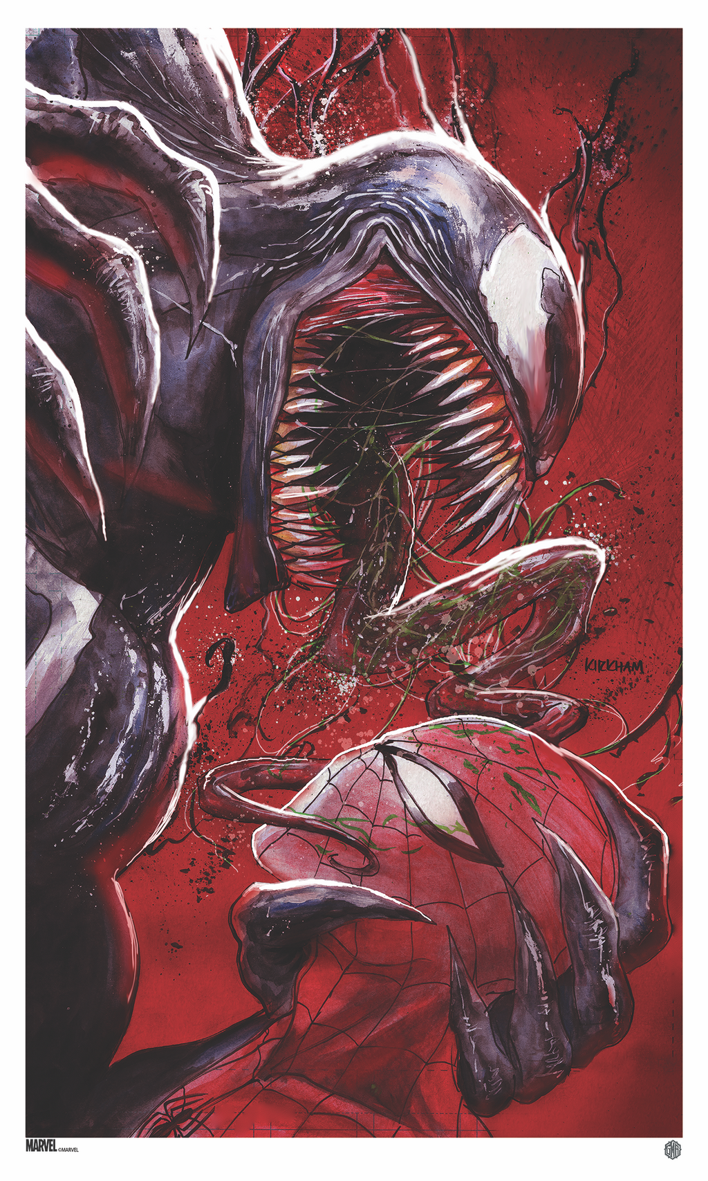 Venom #18 Cover B by Tyler Kirkham