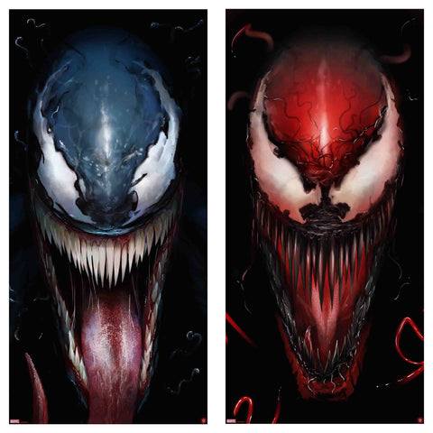 Venom/Carnage Matching Number Set by Andy Fairhurst
